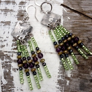 Gypsy earring shine and sparkle