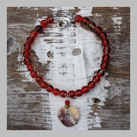 RED-BEAD-WAMPUM-BRACELET